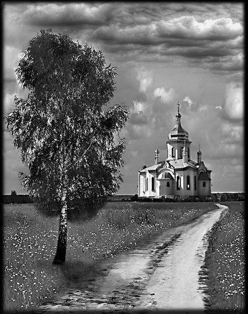 Храмы — оформление обратной стороны стелы